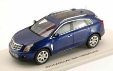 Cadillac SRX Crossover 2011 Imperial Blue 1:43 Model 10095 LUXURY