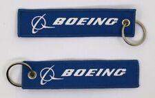 BOEING Portachiavi Qualità Airline Crew Keyrings Keyholder Keychain Luggage Tag