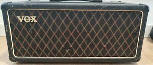 VOX AC50 cabezal vintage reacondicionado. Revisado recientemente.