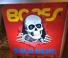 "Powell Peralta /""Bones Rose Cross/"" Skateboard Sticker Limited Edition!!"