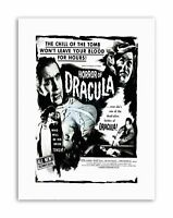 "Film Son Dracula Lon Chaney Vampire Count Drama Horror Framed Art Print 12x16/"""