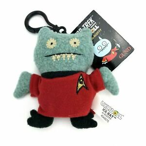 Gund Uglydoll Star Trek Plush Doll 4 1/2 in Keychain Ice-Bat as Scotty