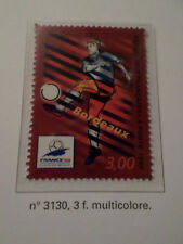 FRANCE 1998, timbre 3130, SPORT FOOTBALL COUPE MONDE BORDEAUX neuf** MNH STAMP
