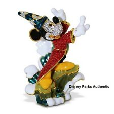 "DISNEY PARKS AUTHENTIC ""SORCERER MICKEY ON WAVE"" BY ARRIBAS SWAROVSKI® Vaulted"