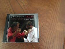 MOZART THE VIOLIN CONCERTOS NO'S CARMIGNOLA / ABBADO 2 CD SET