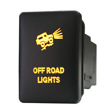 Push switch 929O 12V OFF ROAD LIGHTS Toyota RAV4 Yaris Sequoia LED amber on off