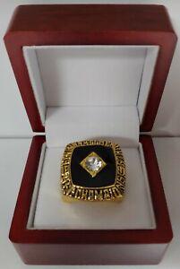 Ken Anderson - 1981 Cincinnati Bengals AFC Championship Ring With Wooden Box