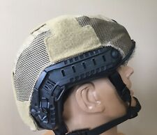 First Spear, Helmet Cover Ops Core FAST High Cut, Hybrid Stretch/Mesh. Coyote.