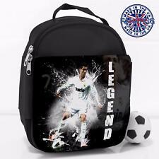 Boys School Lunch sac Ronaldo Madrid Legend Football Isotherme Glacière LG04