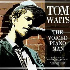 Tom Waits - Voiced Piano Man Live Radio Broadcast 1977 [New CD]