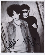 Jesus & Mary Chain (Band) Signed Photo Genuine In Person Jim William Reid
