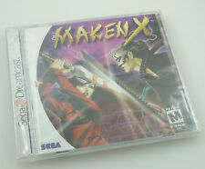 Sega Dreamcast - Maken X - Brand New Factory Sealed