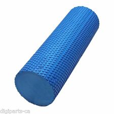 EVA Soft Dot Foam Roller for Muscle Therapy and Balance Exercises, 60 cm x 15 cm