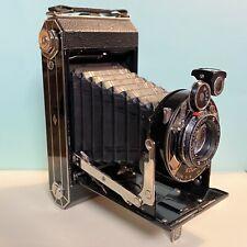 KODAK Folding SIX-20 Model C Art Deco 620 Film Camera 105/4.5 Anastigmat Lens