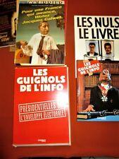 """LOT : """"Guignols de l'Info"""" - CANAL +"""