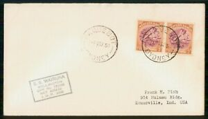 Mayfairstamps WESTERN SAMOA EVENT 1953 COVER SS WAIRUNA wwm67619