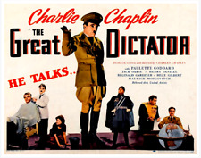 16mm Feature Film: THE GREAT DICTATOR (1940) Charles Chaplin - ORIGINAL - 80 min