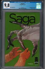 Saga #2 CGC 9.8 White Pages