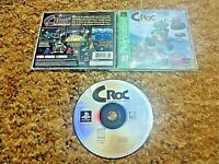 Sony PlayStation 1 PS1 PSOne CIB Complete Tested Croc Legend of the Gobbos