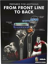 Gillette Fusion ProGlide Limited Edition Lions Razor with 4 Blades - Gift Set