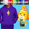 Unisex Pullover Hoodie Sweater Cute Nintendo Animal Crossing New Leaf Isabelle