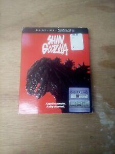 Shin Godzilla (Blu-ray+DVD+Digital, 2017) New