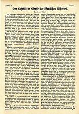 Das Lichtbild im Dienste der öffentlichen Sicherheit * Textdokument 1917