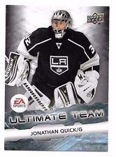 2011-12 upper deck ea ultimate team jonathan quick