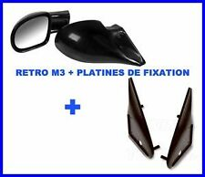 RETRO RETROVISEUR M3 + FIXATION BMW E46 4 PORTES