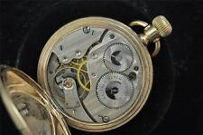 VINTAGE 16 SIZE WALTHAM EQUITY HUNTING CASE POCKET WATCH FROM 1917 RUNNING