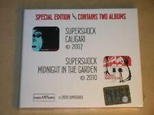 RARE BOITIER 2 CD/ SUPERSHOCK / CALIGARI 2007 +MIDNIGHT IN THE GARDEN 2010 /NEUF