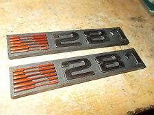 FORD MUSTANG SALEEN HERITAGE MUSTANG 281 S281 H281 EMBLEMS PAIR SALEEN NEW