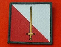 Velcro Backed 42nd North West Brigade TRF Combat Badge Coloured Flash