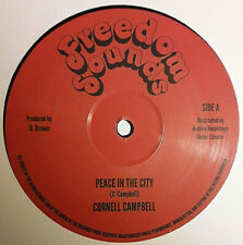 CORNELL CAMPBELL - PEACE IN THE CITY (ARCHIVE/FREEDOM SOUNDS) 12 INCH