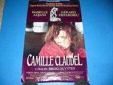 CAMILLE CLAUDEL Vintage ORIGINAL Movie Poster, GERARD DEPARDIEU, Isabelle Adjani