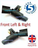 VW Front ABS Speed Sensors Left & Right O/S N/S 1J0927803 1J0927804 mk3 mk4 golf