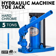 Hydraulic Machine Toe Jack Lift 2.5 / 5 TON Track Lifting Capacity Welded Steel