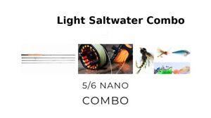 Nano Helix Fly Rod 9ft 5/6,Reel Combo Salt and Freshwater , Lines, flies
