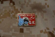 Q049 pin's calot tradition militaire insigne Armée de l'Air OK pilote