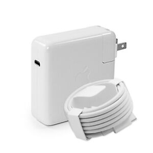 """87W USB C Original Charger for 2016-2019 MacBook Pro 15"""" Genuine Power Adapter"""