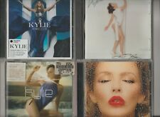 KYLIE MINOGUE: APHRODITE / LIGHT YEARS / FEVER / KISS ME ONCE 4 CD Albums