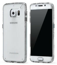 PUREGEAR CLEAR SLIM SHELL CASE HARD TRANSPARENT COVER FOR SAMSUNG GALAXY S6 EDGE