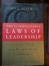 The 21 Irrefutable Laws of Leadership: Follow Them and People Wil - VERY GOOD