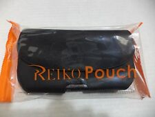 Reiko Horizontal Z lid Leather Pouch Carrying Case for iPhone 6/6S  Black 4.7""