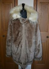 VTG Men's Stearnes Hansa-Branta Eskimo Parka Goose Down Coat Jacket ALASKA XL