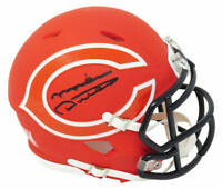 Mike Ditka Signed Chicago Bears AMP Riddell Speed Mini Helmet - SCHWARTZ COA