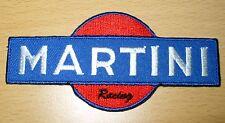 MARTINI RACING CLUB FORMULA 1 car F1 moto Patch Aufbügler Aufnäher blue