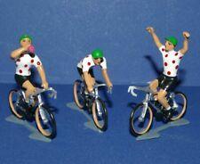 Cycliste miniature CBG Mignot Maillot à pois - Ech 1/35 - Cycling figure