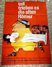 BUSTER KEATON * Toll trieben es die alten Römer -A0-Filmposter -Ger 2-Sheet ´67