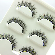 Hand made 100% Real Mink Luxurious Natural Thick soft  lashes False eyelashes 3p